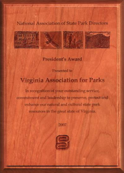 VAFP Receives National Award