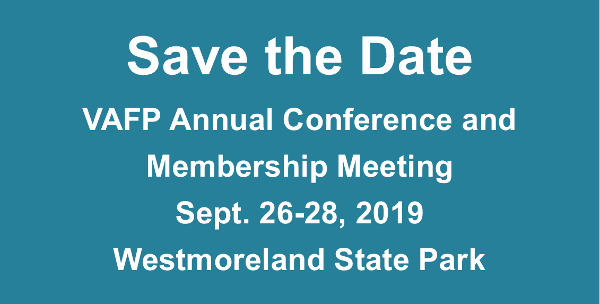 Save the Date 2019 Conference